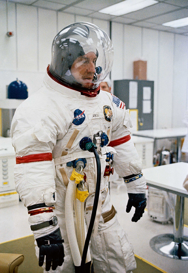 Astronaut James A. Lovell Jr., commander for NASA's Apollo 13 mission